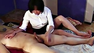 ass handjob massage