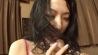 black blowjob brunette couple cumshot facials hot japanese licking