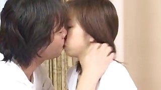babe brunette couple crazy hairy japanese kiss masturbation vagina