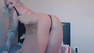 18-21 webcam nylon ebony fatty juicy panties solo