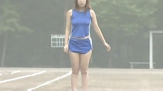 amateur brunette japanese nude outdoor public solo uncensored