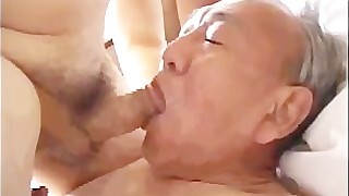 japanese handjob daddy cumshot cum blowjob ass anal massage