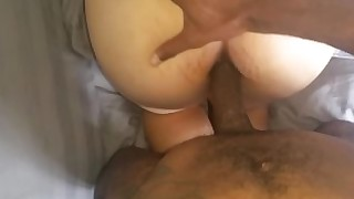 wife pregnant amateur ass couple creampie fuck hd interracial