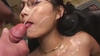 bukkake chinese big-cock cum cumshot cute facials fuck gang-bang