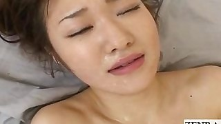 playing threesome vibrator cum hidden-cam japanese
