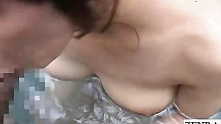 japanese hardcore couple blowjob bathroom outdoor
