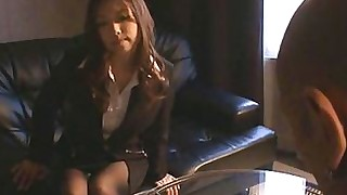 hardcore japanese office oral