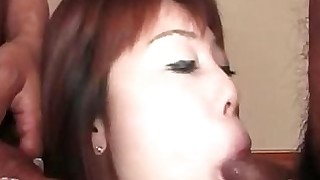 blowjob big-cock double-penetration milf threesome