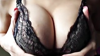 big-tits playing