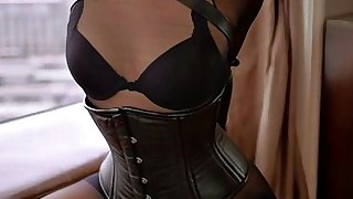 slave nylon beauty bdsm